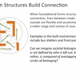 Structures shape possibilities for connection